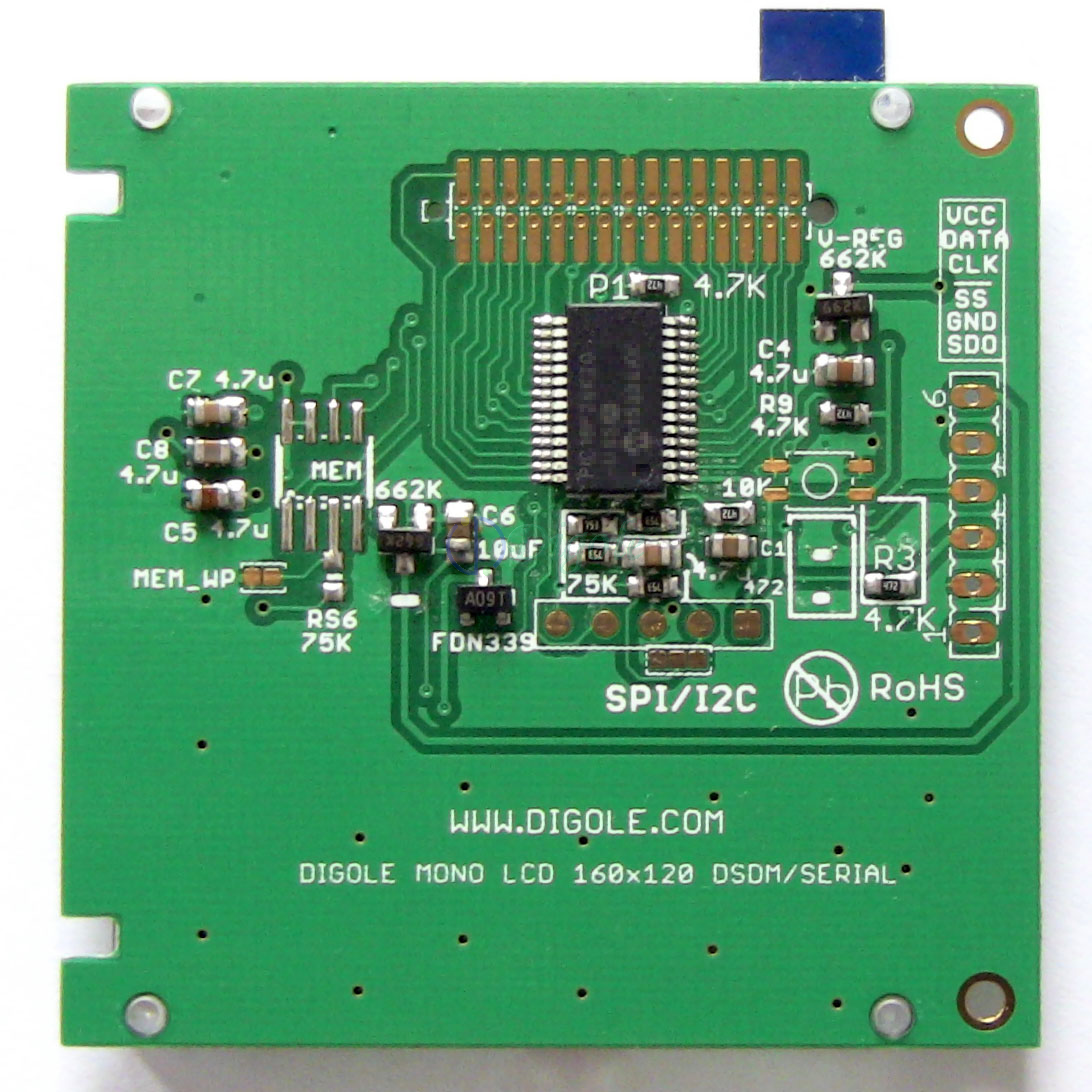 Quot serial uart iic i c spi lcd module for