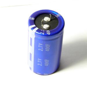 Super Capacitor--2 7V 400 Farad Super Capacitor (KamCap)